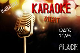 Karaoke poster templates postermywall similar design templates toneelgroepblik Images