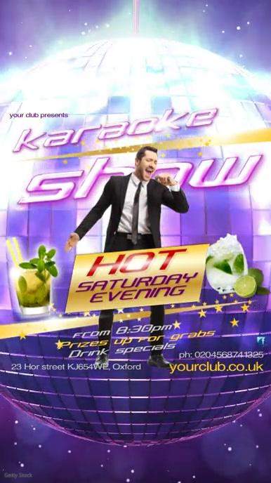 Karaoke Show Template