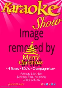 Karaoke Show Poster