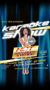 Karaoke Show Video Post