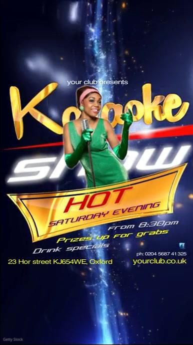 Karaoke Show Video