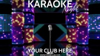 KARAOKE VER. 3 with optional MUSIC Ecrã digital (16:9) template