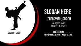 Karate Business Card