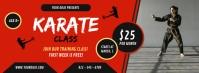 Karate Class Facebook Cover Photo