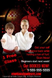 Karate Classes Template