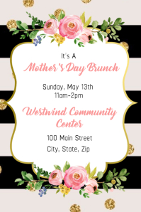 Mother's Day Brunch Invitation