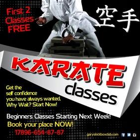 Karate Classes Video Post