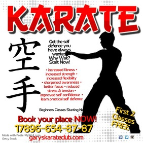 Karate Club Post