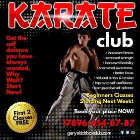 Karate Club Video Template