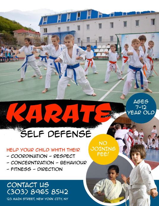 Karate Flyer