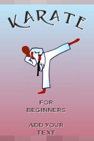 karate - for beginners - entry level martial