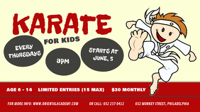 Karate for Kids Digital Display Image