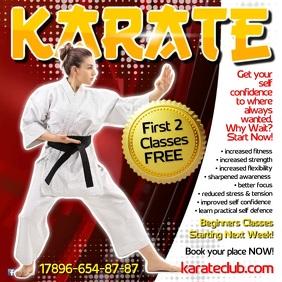 Karate Instagram Video Template