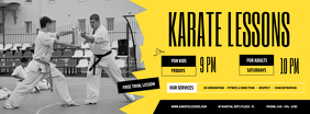 Karate Lessons Facebook Cover Photo