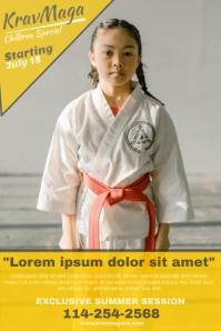Karate Poster Template