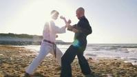 Karate self defense training video Miniatura di YouTube template