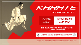 Karate Tournament Digital Display Image
