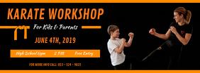Karate Workshop Facebook Cover Photo