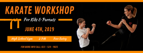 Karate Workshop Facebook Cover Photo