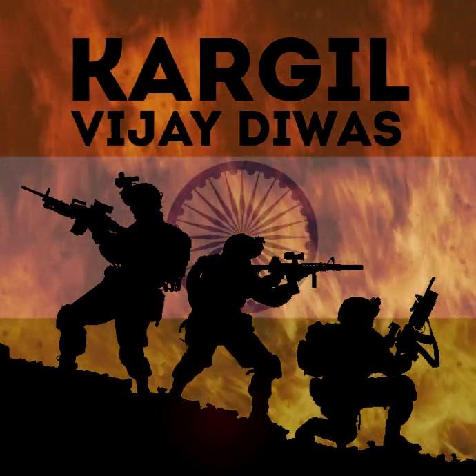 Kargil Vijay Diwas Template Square (1:1)