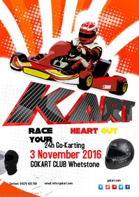 Customizable Design Templates For Karting Postermywall