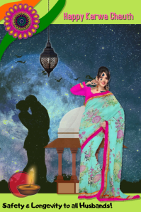 karwa chauth/India/festival/Love/couples