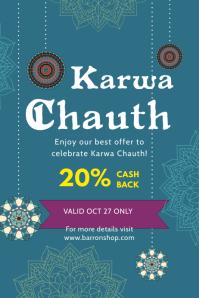 Karwa Chauth Sale Poster