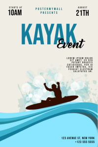 Kayak Event Flyer Template