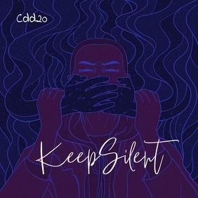 Keep Silent Mixtape CD Cover Music