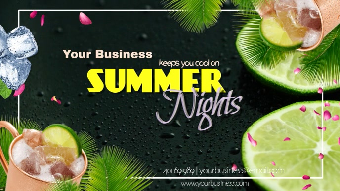 Keeps you cool on hot summer nights Beat the heat at the best place in town