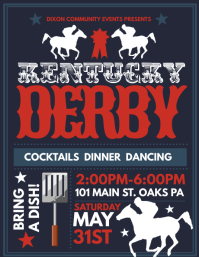 Customizable Design Templates for Kentucky Derby ...