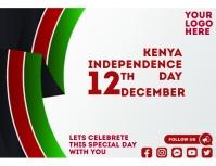Kenya Independence Day Pamflet (VSA Brief) template