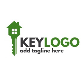 Key logo real estate template