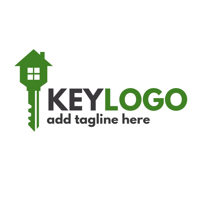 Key logo real estate template