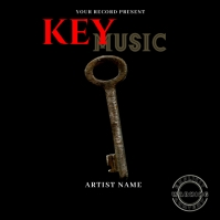 KEY Music Mixtape/Album Cover A template