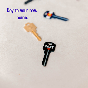 Key to your new home