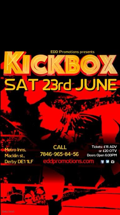 Kick Box Template | PosterMyWall