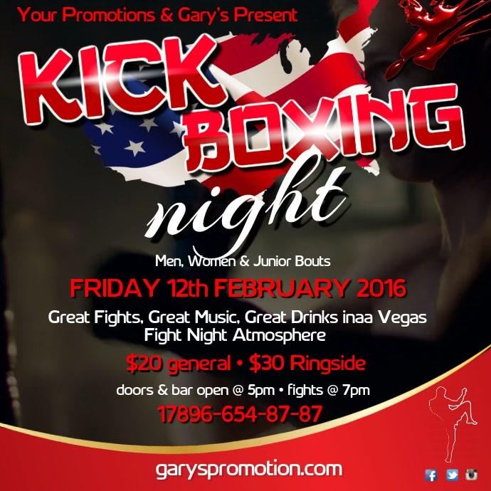 Kick Boxing Instagram Post