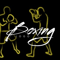 Kick Boxing Logo Animated Video 徽标 template