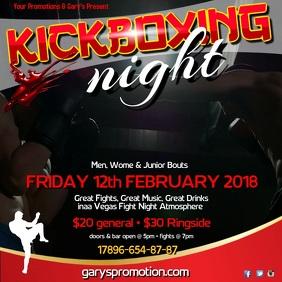 Kickboxing night instagram