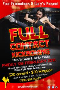 kickoxing poster