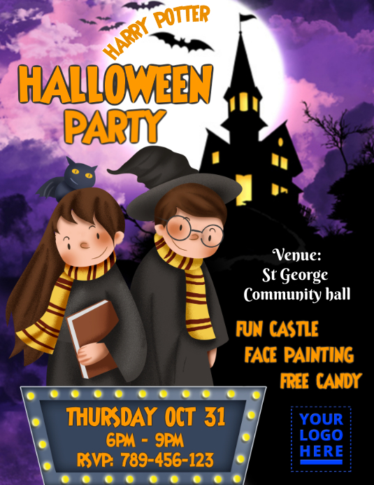 Kid Halloween Party 2019