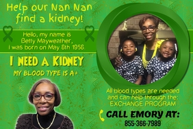 Kidney assistance Template