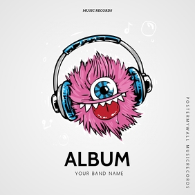 Kids Abum Cover Template