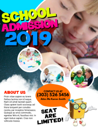 Kids Admission Flyer