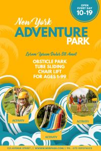 Kids Adventure Park Flyer Template