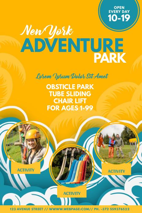 Kids Adventure Park Flyer Template
