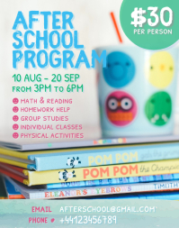 Kids After School Program Flyer