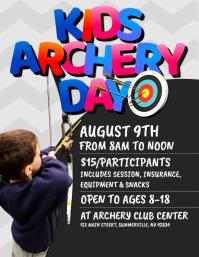 Kids Archery Day Flyer