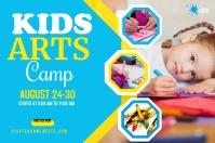 Kids Art Camp Banner template
